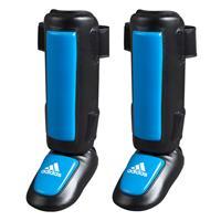 Adidas Pro Style Scheenbeschermer Zwart Blauw - S/M