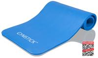 Gymstick Fitnessmat Comfort Blue - Met Online Trainingsvideo's