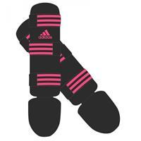 Adidas Scheenbeschermer Good Zwart Roze - XXS