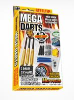 Harrows Mega Darts Gift Set - Steeltip
