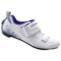 Shimano TR5 SPD-SL Triathlon Shoes - White - EU 49 - White
