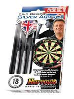 Harrows Silver Arrows Steeltip dartpijlenset