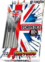 Harrows Torpedo 80% Tungsten Darts Gram : 21 gram
