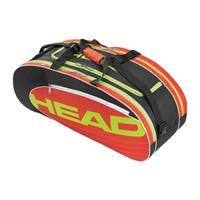 head Elite All Court tennistas 6 rackets rood/zwart