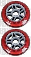 JD BUG Scooter Red Wheels (2 Pack) - Step Wielen