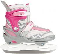 nijdam ijshockeyschaatsen meisjes verstelbaar wit