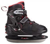 nijdam IJshockeyschaatsen Verstelbaar Semi Softboot Junior 3135