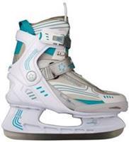 nijdam Ijshockeyschaatsen Semi Softboot Dames Wit