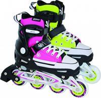 Tempish Magic Rebel Inline Skates meisjes roze/groen