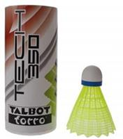 Talbottorro Talbot Torro badminton shuttles Tech 350 geel/blauw 3 stuks