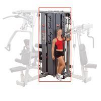 Body-Solid DGym Pro Dual 4-Stack Gym Frame