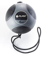 Pure2Improve Medicine ball with Rope 6kg