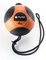 Pure2Improve Medicine ball with Rope 4kg