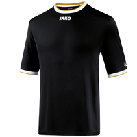 Jako United Shirt Met Korte Mouwen - Junior - Zwart/Wit/Goud_116