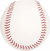 Abbey Honkbal 7cm Wit