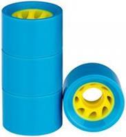 nijdam Wielen voor Flip Grip board 60 x 45 mm blauw