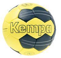 Kempa Leo Basic Profile Handbal maat 1 - Geel / Petrol