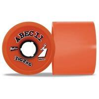 ABEC 11 Zigzag 66mm Dark Orange - Longboard Wielen