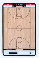 Pure2Improve Coach-bord dubbelzijdig basketbal 35x22 cm P2I100620