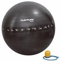 Tunturi Anti-Burst Fitnessbal Gymbal Zwart - 55cm