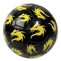 Derbystar Voetbal Monta Replica Streetball Zwart/Geel