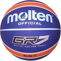 Piri Molten Basketbal BGR7 Navy Oranje