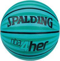 Uhlsport Spalding Basketbal NBA 4HER blauw/groen