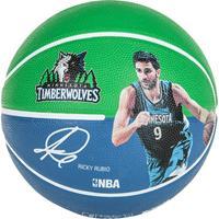 Uhlsport Spalding Basketbal NBA Ricky Rubio Groen/Navy