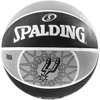 Uhlsport Spalding basketbal NBA San Antonio Spurs Zwart/Grijs