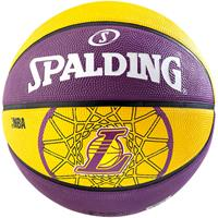 Uhlsport Spalding Basketbal NBA L.A. Lakers paars/geel