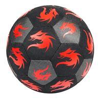 Derbystar Voetbal Monta StreetMatch zwart/rood