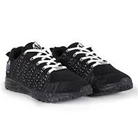 Gorillawear Brooklyn Knitted Sneakers (unisex) - Black/White - 36