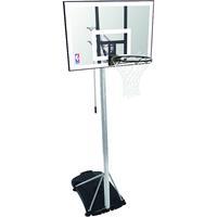 Uhlsport Spalding Portable Basketbal System NBA SILVER 59-472CN