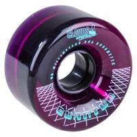 CLOUDS Quantum 62mm/80A Clear Purple (4-pack) Wheels - Rollerskate Wielen