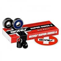 BONES Super Swiss Six Balls Bearings (8 Pack) - Lagers