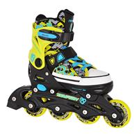 Tempish Rebel Now Inline Skates junior zwart/groen