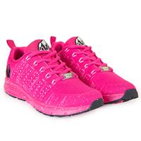 Gorillawear Brooklyn Knitted Sneakers - Pink/White - 36