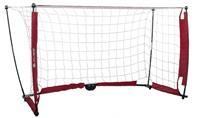 voetbaldoel 152 x 91 cm wit/rood