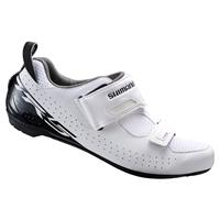 Shimano TR5 SPD-SL Triathlon Shoes - White - EU 43 - White