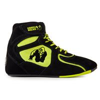 "Gorillawear Chicago High Tops - Black/ Neon Lime ""Limited"" - Maat 36"