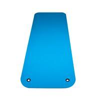 Reha Fit Fitnessmat - Yogamat - 180 x 65 cm - Turquoise/Grijs