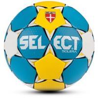 Select Solera Handbal - Blauw / Geel / Wit - Maat 2