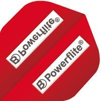 BULL'S Powerflite Standard A-Shape - Logo Rood