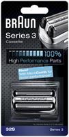 32S Series 3 Cassette - Vervangend Scheerblad Zilver