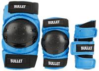 BULLET Safety Gear Kids Blue/Blauw (3pack) - Protectie