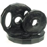 Tunturi Olympic Rubber Plate - 15 kg
