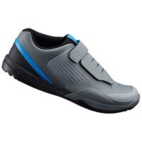 AM9 MTB Shoes - for SPD - Grey/Blue - UK 12/EU 48 - Grey/Blue