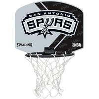 Uhlsport Spalding Basketbal Miniboard San Antonio Spurs grijs/zwart