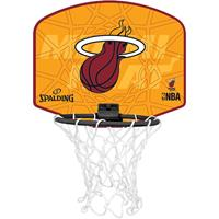 Uhlsport Spalding Basketbal Miniboard Miami Heat oranje/rood