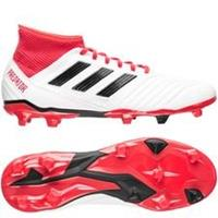 adidas Predator 18.3 FG/AG Cold Blooded - Wit/Zwart/Rood